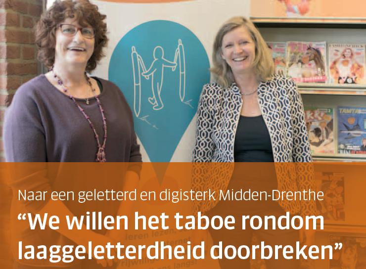 Geletterd en digisterk Midden-Drenthe